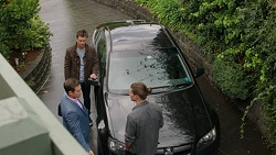 Mark Brennan, Aaron Brennan, Mark Brennan in Neighbours Episode 7503