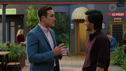 Aaron Brennan, David Tanaka in Neighbours Episode 7503