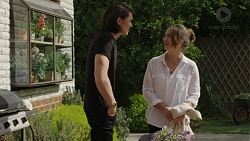 Leo Tanaka, Amy Williams in Neighbours Episode 7503