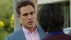 Aaron Brennan, David Tanaka in Neighbours Episode 7504