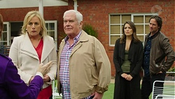 Lauren Turner, Lou Carpenter, Paige Smith, Brad Willis in Neighbours Episode 7504