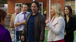 Susan Kennedy, Lou Carpenter, Toadie Rebecchi, Brad Willis, Lauren Turner, Paige Smith in Neighbours Episode 7504