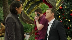 Leo Tanaka, Paul Robinson in Neighbours Episode 7505