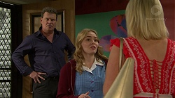 Trey Johnson, Xanthe Canning, Brooke Butler in Neighbours Episode 7506