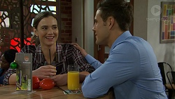 Amy Williams, Aaron Brennan in Neighbours Episode 7506