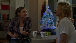 Amy Williams, Steph Scully in Neighbours Episode 7507