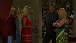 Xanthe Canning, Brooke Butler, Gary Canning, Sheila Canning in Neighbours Episode 7507