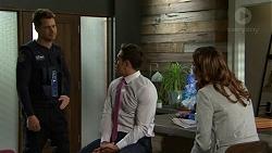Mark Brennan, Aaron Brennan, Elly Conway in Neighbours Episode 7507