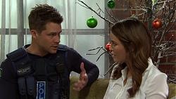 Mark Brennan, Elly Conway in Neighbours Episode 7507