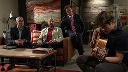 Aaron Brennan, Ben Kirk in Neighbours Episode 7507