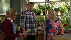 Xanthe Canning, Gary Canning, Sheila Canning in Neighbours Episode 7508