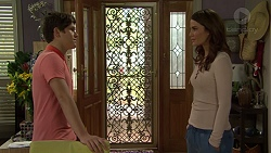 Angus Beaumont-Hannay, Elly Conway in Neighbours Episode 7508