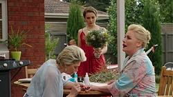 Kathy Carpenter, Piper Willis, Lauren Turner in Neighbours Episode 7509