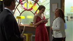 Paul Robinson, Piper Willis, Terese Willis in Neighbours Episode 7509