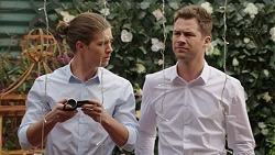 Tyler Brennan, Mark Brennan in Neighbours Episode 7509