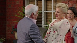 Lou Carpenter, Lauren Turner, Paige Novak in Neighbours Episode 7509