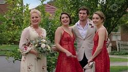 Lauren Turner, Paige Novak, Ned Willis, Piper Willis in Neighbours Episode 7509