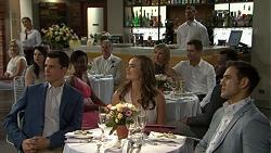 Jack Callahan, Karl Kennedy, Amy Williams, Steph Scully, Mark Brennan, Aaron Brennan in Neighbours Episode 7510