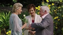 Kathy Carpenter, Susan Kennedy, Lou Carpenter in Neighbours Episode 7510