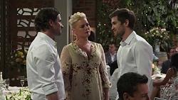 Brad Willis, Lauren Turner, Ned Willis in Neighbours Episode 7510