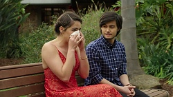 Paige Smith, David Tanaka in Neighbours Episode 7510
