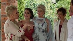 Lauren Turner, Paige Novak, Kathy Carpenter, Susan Kennedy in Neighbours Episode 7510
