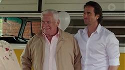 Lou Carpenter, Brad Willis in Neighbours Episode 7510