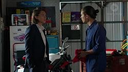 Leo Tanaka, Tyler Brennan in Neighbours Episode 7511