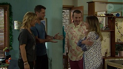 Steph Scully, Mark Brennan, Toadie Rebecchi, Sonya Mitchell in Neighbours Episode 7511