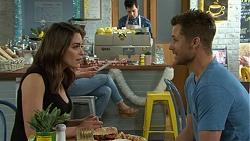Paige Novak, Mark Brennan in Neighbours Episode 7511