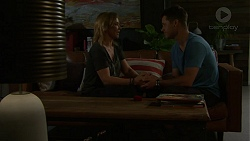 Steph Scully, Mark Brennan in Neighbours Episode 7511