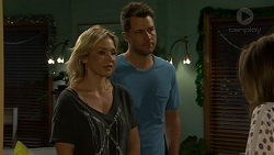Steph Scully, Mark Brennan, Sonya Mitchell in Neighbours Episode 7511