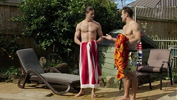 Tyler Brennan, Aaron Brennan in Neighbours Episode 7512