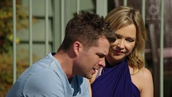 Mark Brennan, Steph Scully in Neighbours Episode 7512