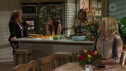 Terese Willis, Paige Novak, Piper Willis, Lauren Turner in Neighbours Episode 7512