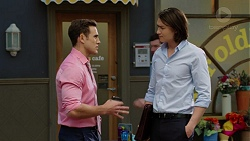 Aaron Brennan, Leo Tanaka in Neighbours Episode 7512