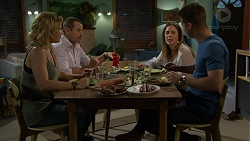 Steph Scully, Toadie Rebecchi, Sonya Mitchell, Mark Brennan in Neighbours Episode 7512