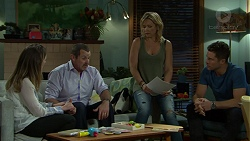 Sonya Mitchell, Toadie Rebecchi, Steph Scully, Mark Brennan in Neighbours Episode 7513