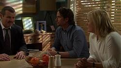 Toadie Rebecchi, Brad Willis, Lauren Turner in Neighbours Episode 7513