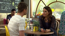 Mark Brennan, Elly Conway in Neighbours Episode 7513