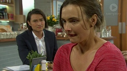 Leo Tanaka, Amy Williams in Neighbours Episode 7513