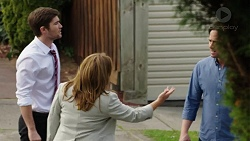 Ned Willis, Terese Willis, Brad Willis in Neighbours Episode 7514