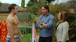 Aaron Brennan, Brad Willis, Terese Willis in Neighbours Episode 7514