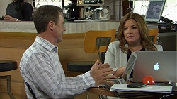 Paul Robinson, Terese Willis in Neighbours Episode 7514