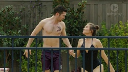 Ned Willis, Paige Novak in Neighbours Episode 7514
