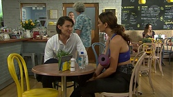 Leo Tanaka, Elly Conway in Neighbours Episode 7515