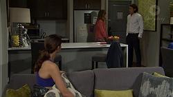 Amy Williams, Sonya Rebecchi, Leo Tanaka in Neighbours Episode 7515