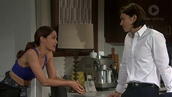 Elly Conway, Leo Tanaka in Neighbours Episode 7515