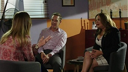 Sonya Mitchell, Paul Robinson, Terese Willis in Neighbours Episode 7515
