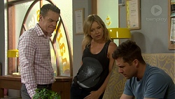 Paul Robinson, Steph Scully, Mark Brennan in Neighbours Episode 7516